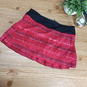 Lululemon Run Pacesetter Skirt Make Davie Run Sz.6